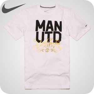 [남녀공용][NIKE]MENS MANU CORE COTTON TEE #405635-100